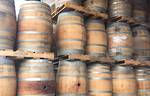 Full wine Barrels