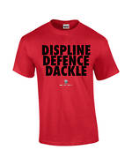 """Carlaw Park """"3D's"""" Red Tee"""