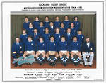 Auckland Rugby League U17 Team 1982