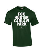 "Carlaw Park ""Fox Hunter"" Forrest Green Tee"