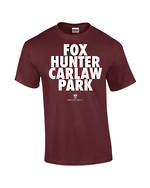 "Carlaw Park ""Fox Hunter"" Maroon Tee"