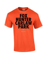 "Carlaw Park ""Fox Hunter"" Orange Tee"