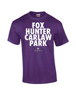 "Carlaw Park ""Fox Hunter"" Purple Tee"