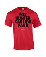 "Carlaw Park ""Fox Hunter"" Red Tee"