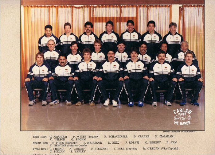 Auckland Rugby League Premier Team 1982