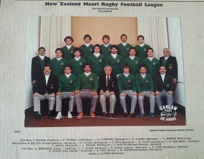 New Zealand Maori Rugby League Team 1983