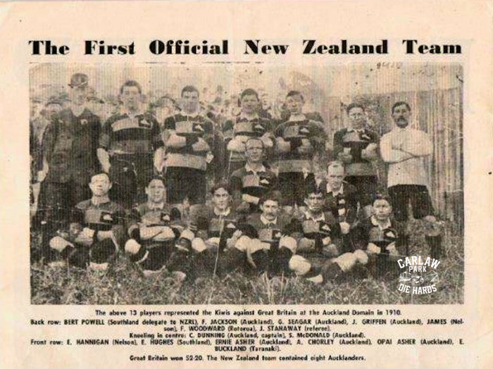 New Zealand Rugby League Team 1910