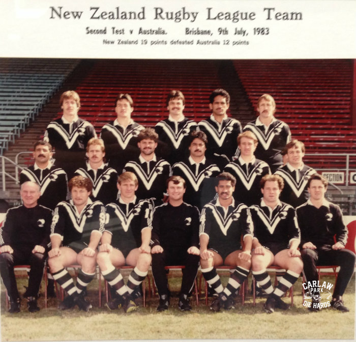 New Zealand Rugby League Team 1983