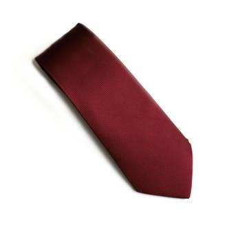 Burgundy Jacquard tie