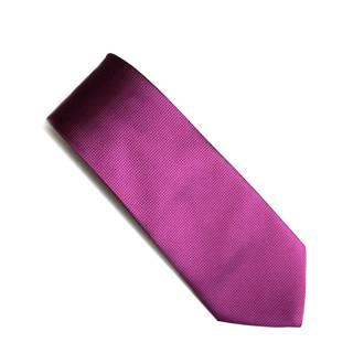 Fuschia self pattern tie