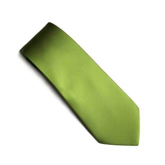 Lime Jacquard tie
