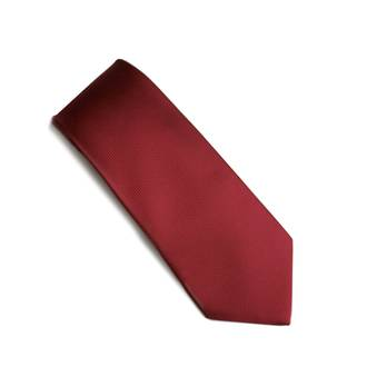 Rich Red Jacquard tie