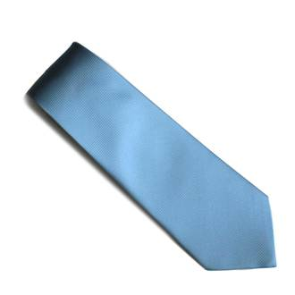 Sky Blue self pattern tie