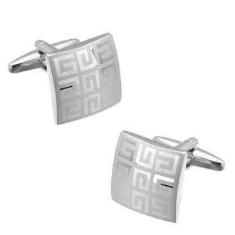 Silver Square cufflinks