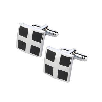 Square Cross cufflinks