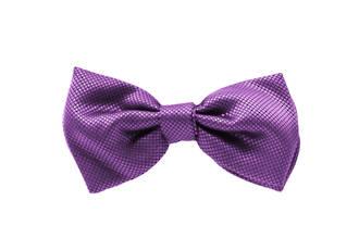 Lilac Jacquard Pre-tied Bow