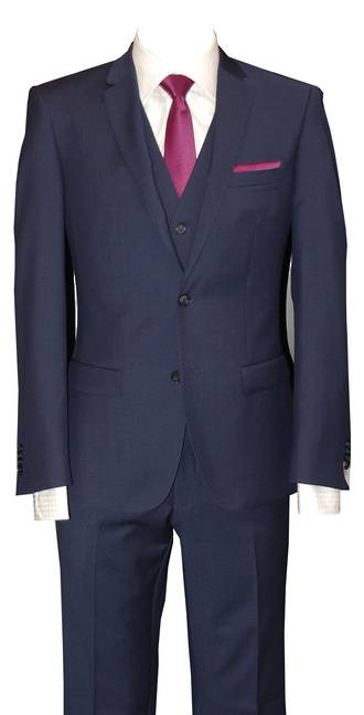Rich Blue slim fit Jacket