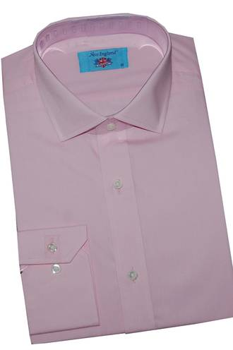 New England Pale Pink shirt
