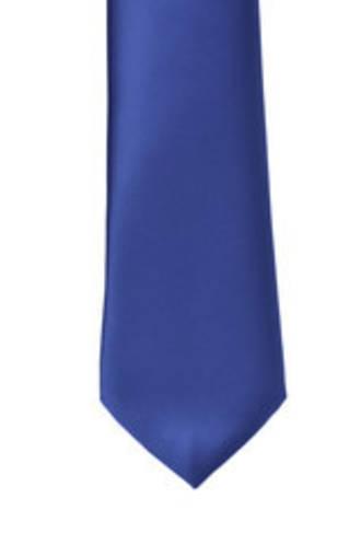 Cobalt Satin Tie