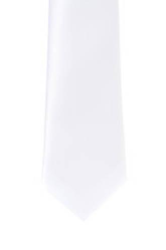 White Satin Tie
