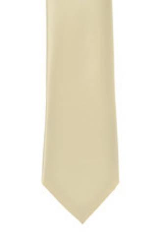 Champagne Satin Tie