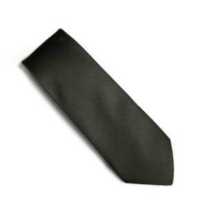 Bottle green Jacquard tie
