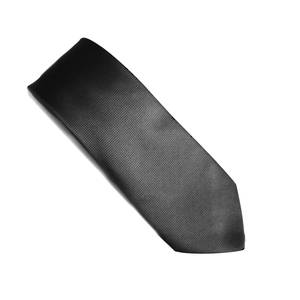 Charcoal self pattern tie