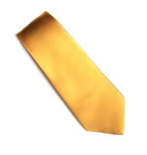 Gold Jacquard tie