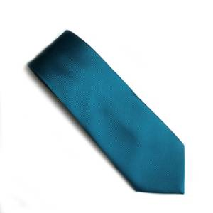teal self pattern tie