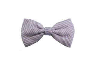 Lilac pattern Pre-tied Bow