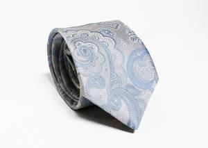 Sky Paisley tie