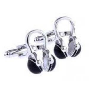 Headphone Cufflinks