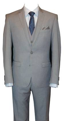 Reuben Light grey slim fit Suit