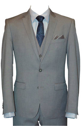 Reuben Light grey slim fit Jacket