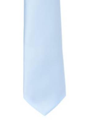 Baby Blue Satin Tie