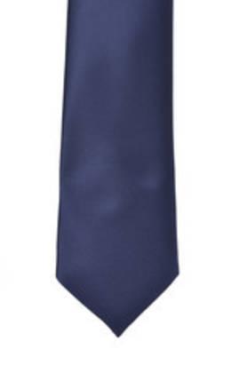 Navy Satin Tie