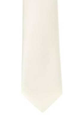 Cream Satin Tie