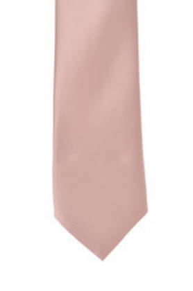 Rose Satin Tie