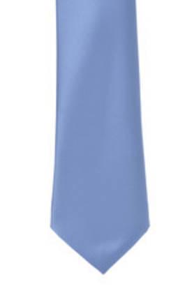 Air Force Blue Satin Tie