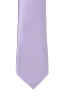 Lilac Satin Tie