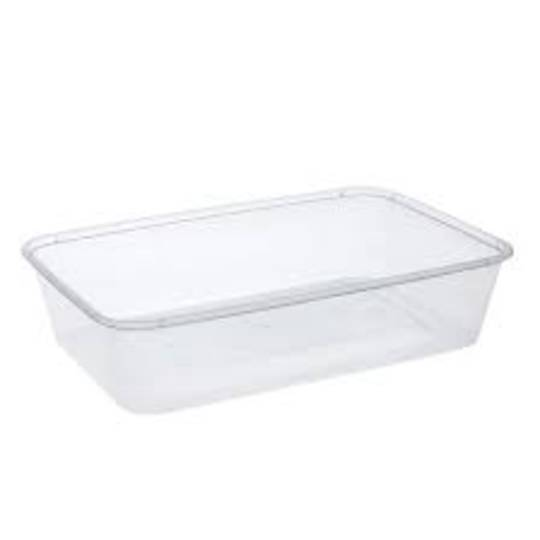 Containers 500ml RECTANGLE 50's (R)