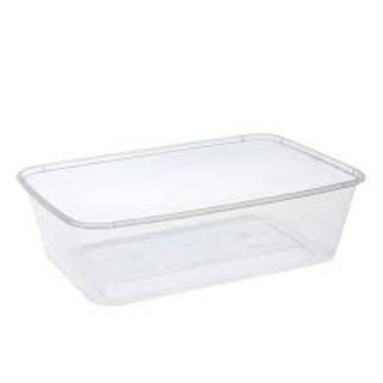 Containers 650ml RECTANGLE (50)