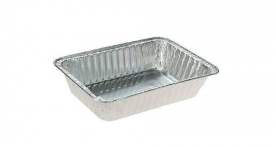 Foil Tray Chicken / Hangi NO LID (50) 219L x 156W x 48H
