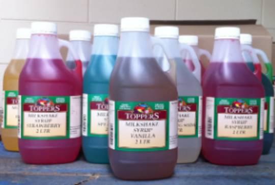 Milkshake Syrup Strawberry 2ltr