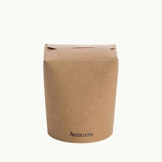 NOODLE BOX 16oz / 480ml  Biodegradable (50)