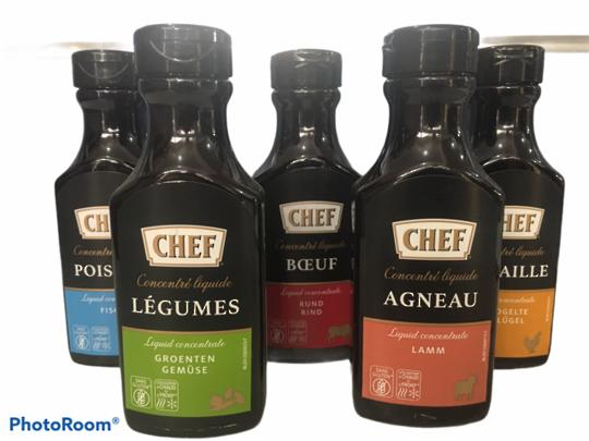 STOCK Liquid Concentrate (200ml) Chef VEGE