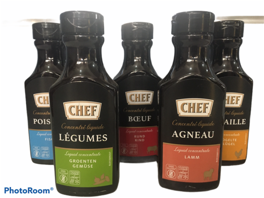 STOCK Liquid Concentrate (200ml) Chef BEEF