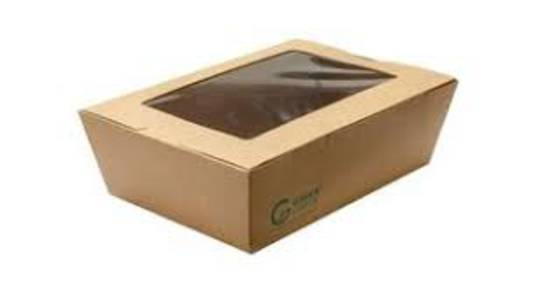 Foodpack Cardboard Large with Window (50)