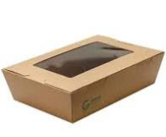 Foodpack Cardboard MEDIUM with Window (50)