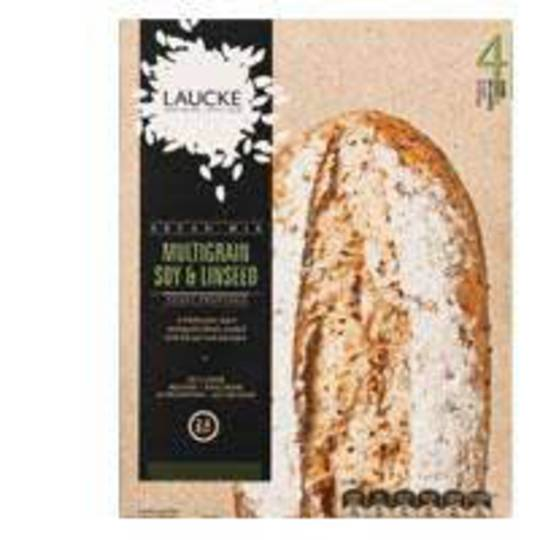 Laucke Bread Mix 2.4kg MULTIGRAIN SOY LINSEED (Makes 4 Loaves)